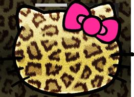 Hello Kitty Leopard by raiimbowsweet