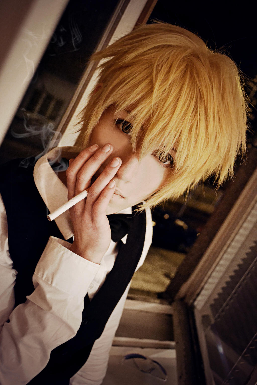 Shizuo - Spinning smoke by AmiTheStalker