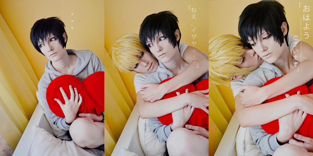 Good morning Izaya-kun~ by AmiTheStalker