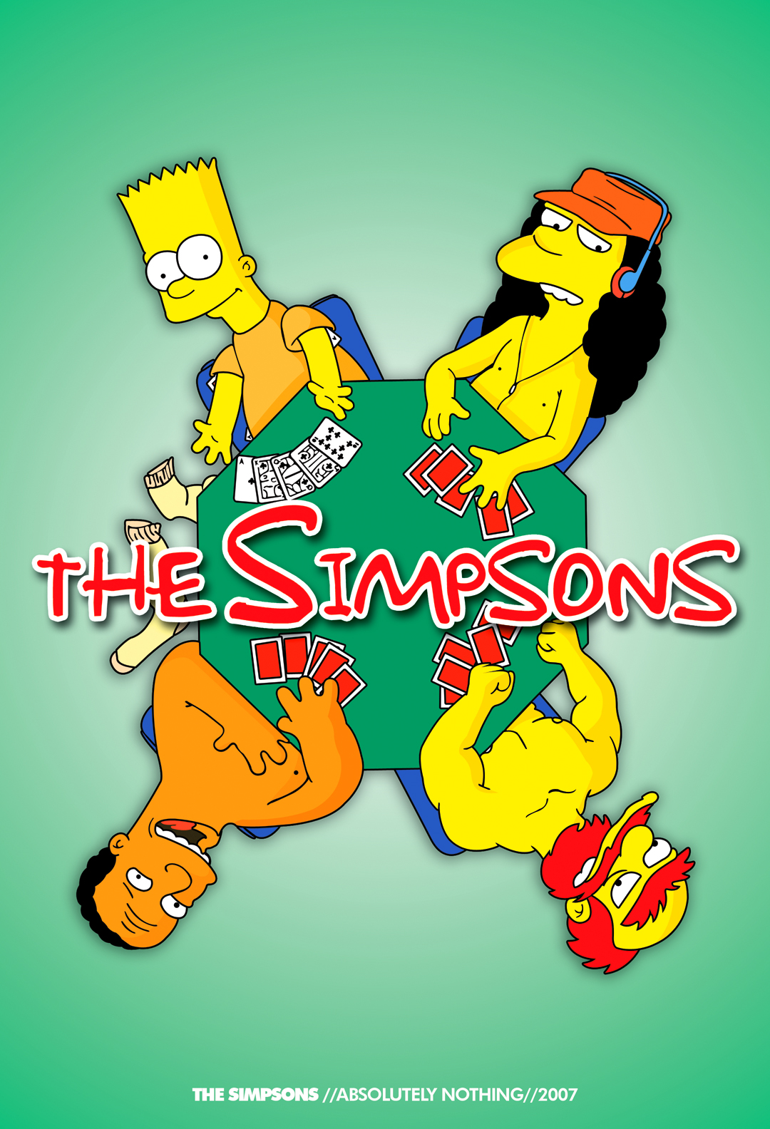 The Simpsons by josephguevarra