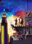 Kingdom hearts 3 3D boxart by GeorgePg