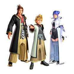 Wayfinder Trio - New Outfits