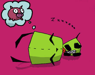 - Gir colored - by peepthestyle