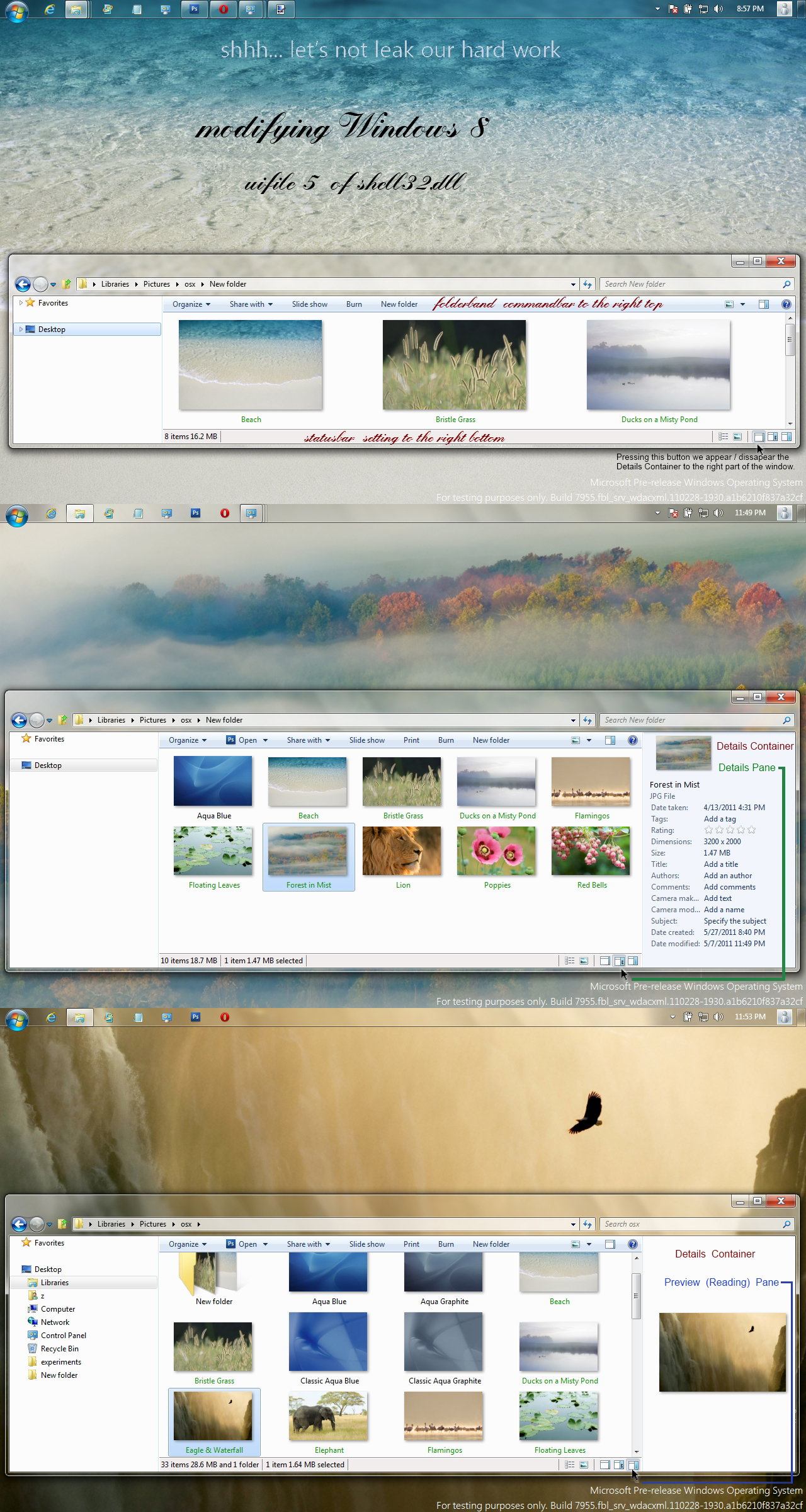 Windows 8 Milestone 2 mod