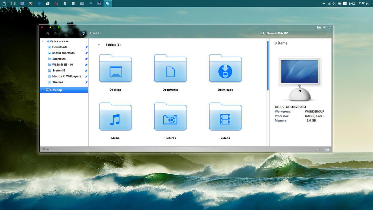New  Desktop by ZEUSosX