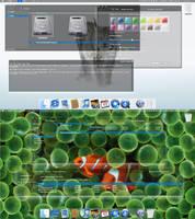 Dark Osx style theme for windows 7