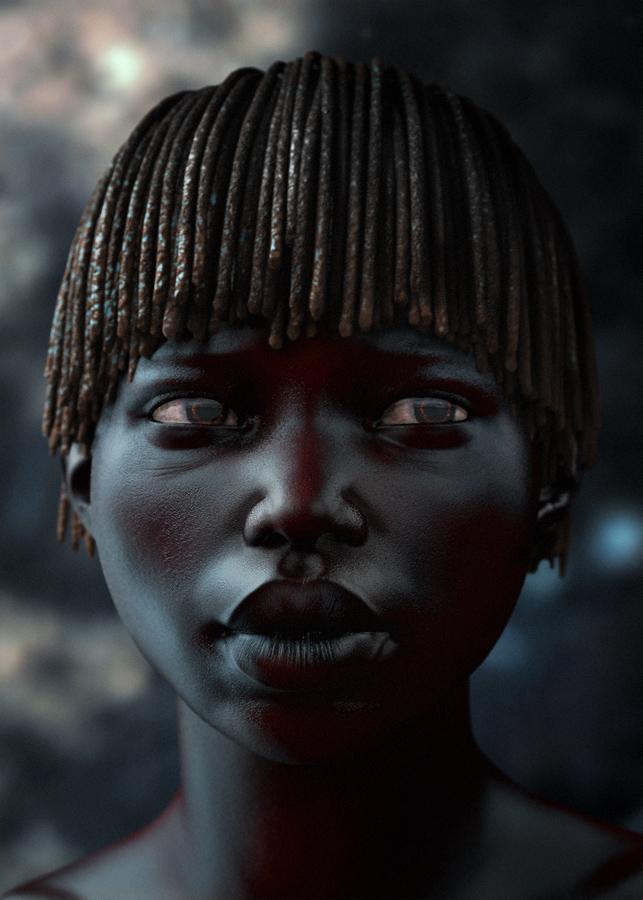little african girl by TsvetanNikolov
