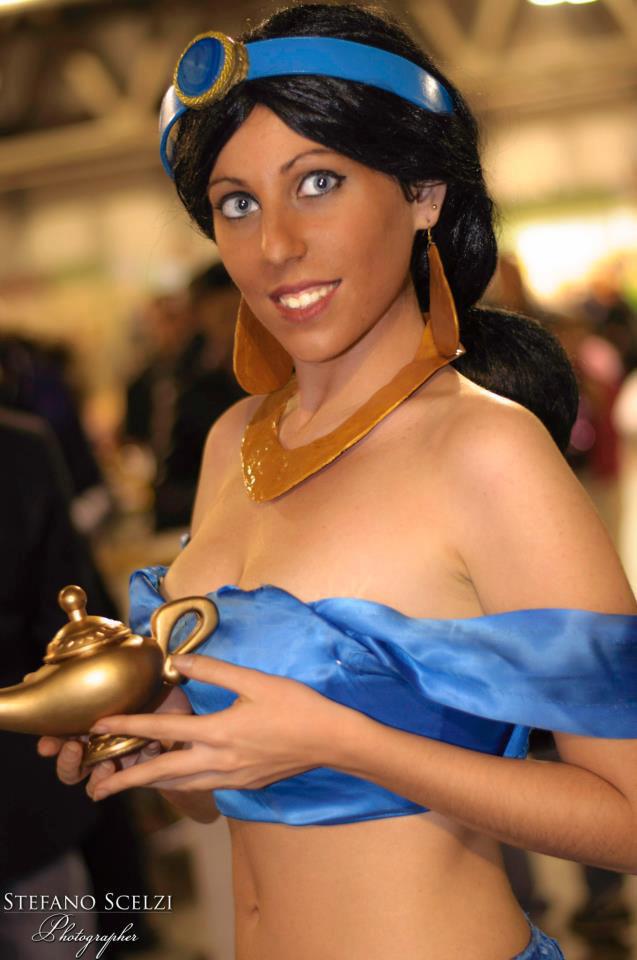 Princess Jasmine cosplay by LadyDaniela89