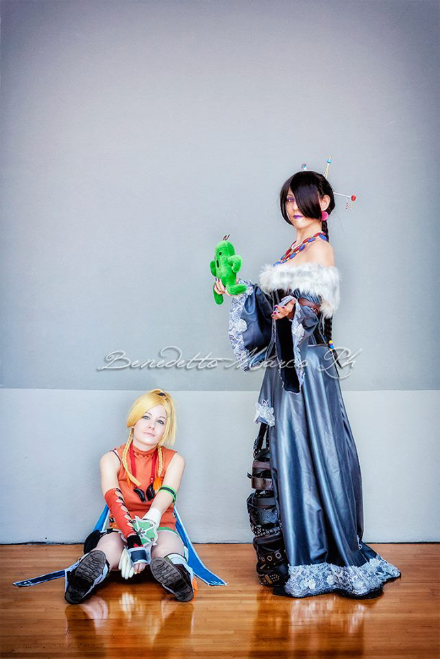Rikku and Lulu by LadyDaniela89