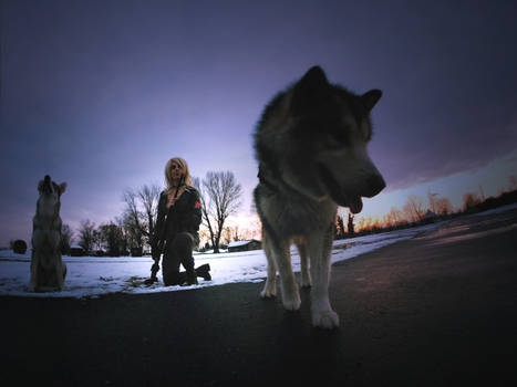 Shadow Moses - Sniper Wolf