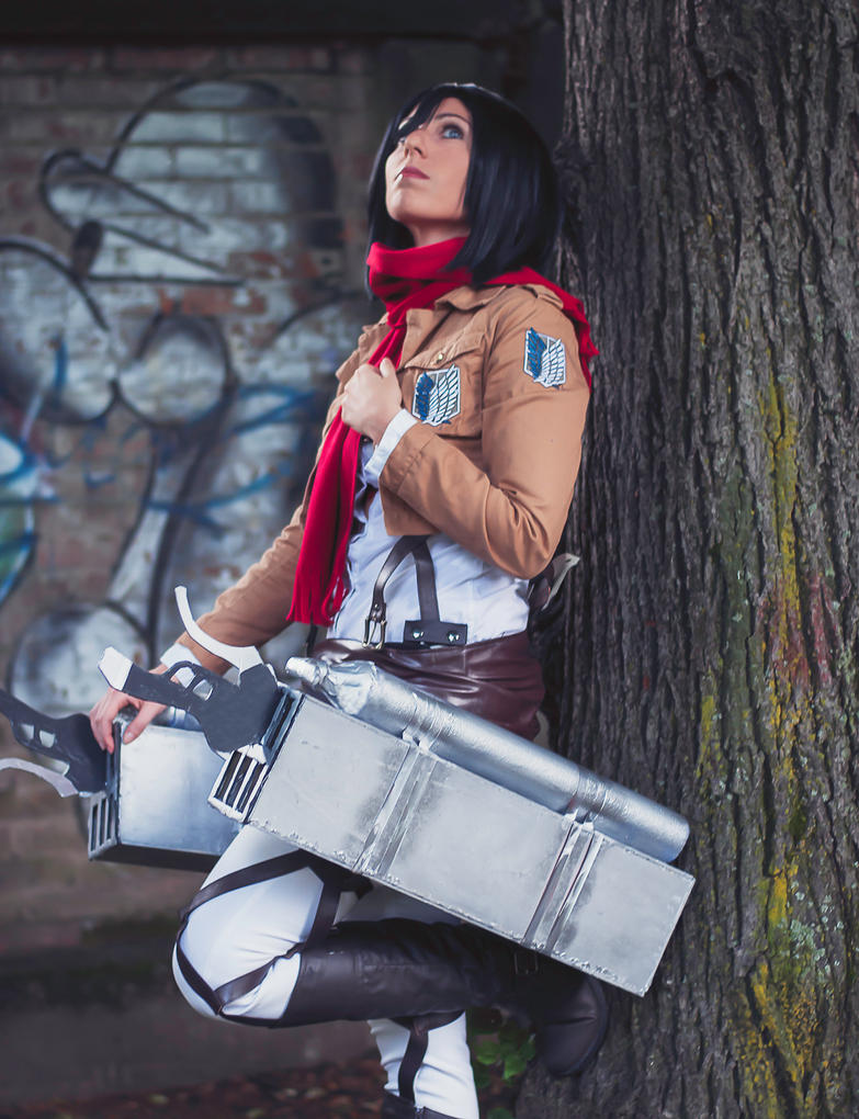 Mikasa Ackerman by LadyDaniela89