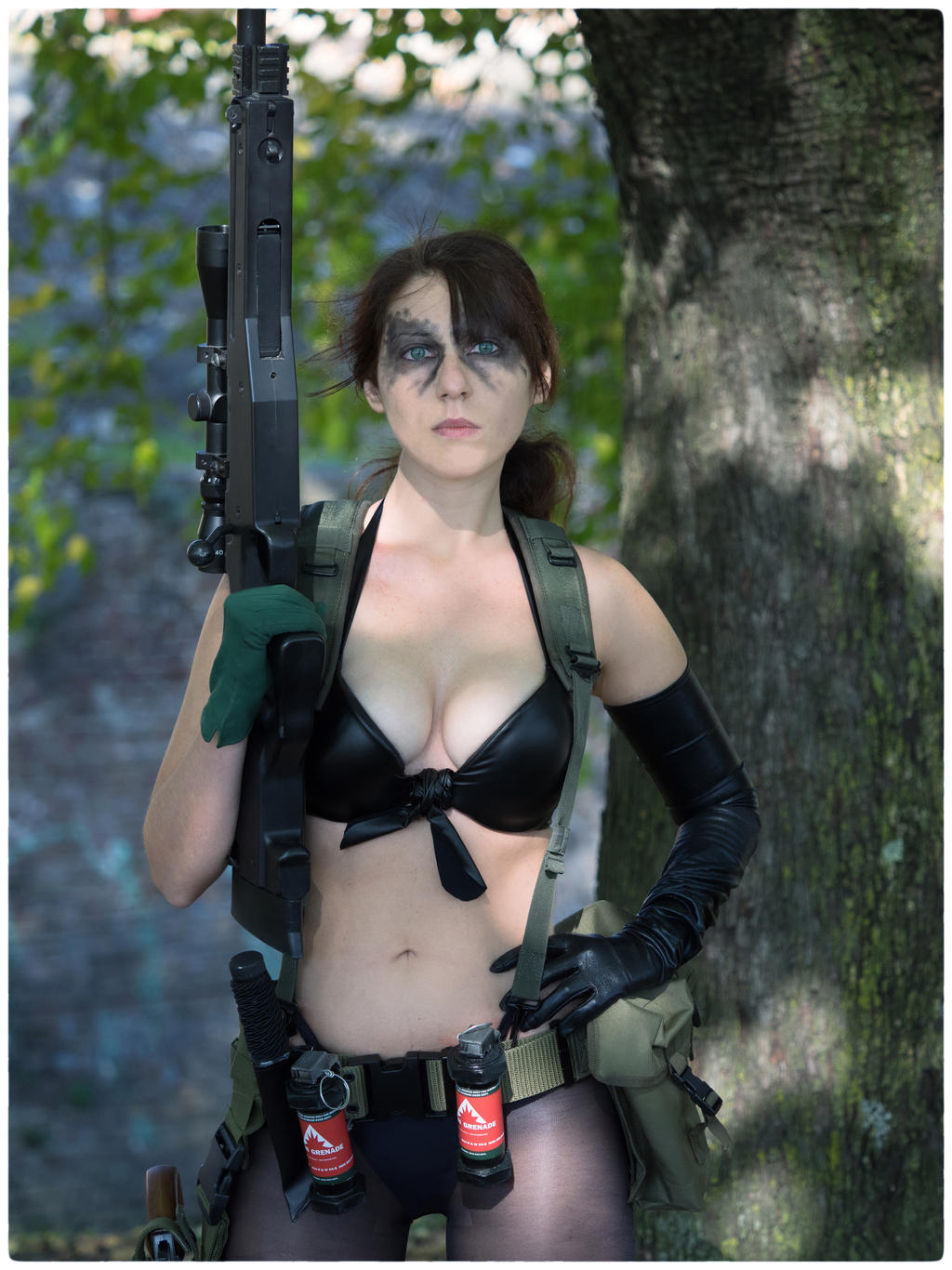 Quiet Cosplay - Metal Gear Solid V TPP by LadyDaniela89 on