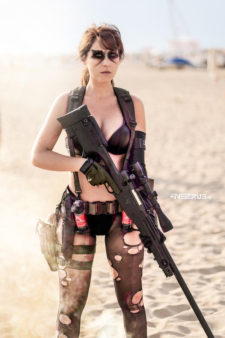 Quiet Cosplay - Metal Gear Solid V TPP by LadyDaniela89