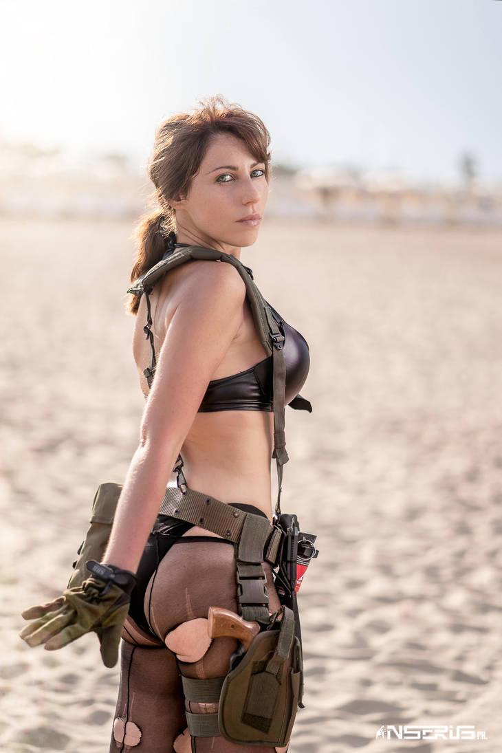 Косплей Quiet MGSV из Metal Gear Solid ,автор статьи ikeno