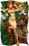 Jungle Danger Girl