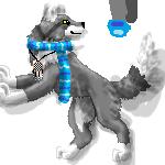 Wolf journal doll by SironaWolf