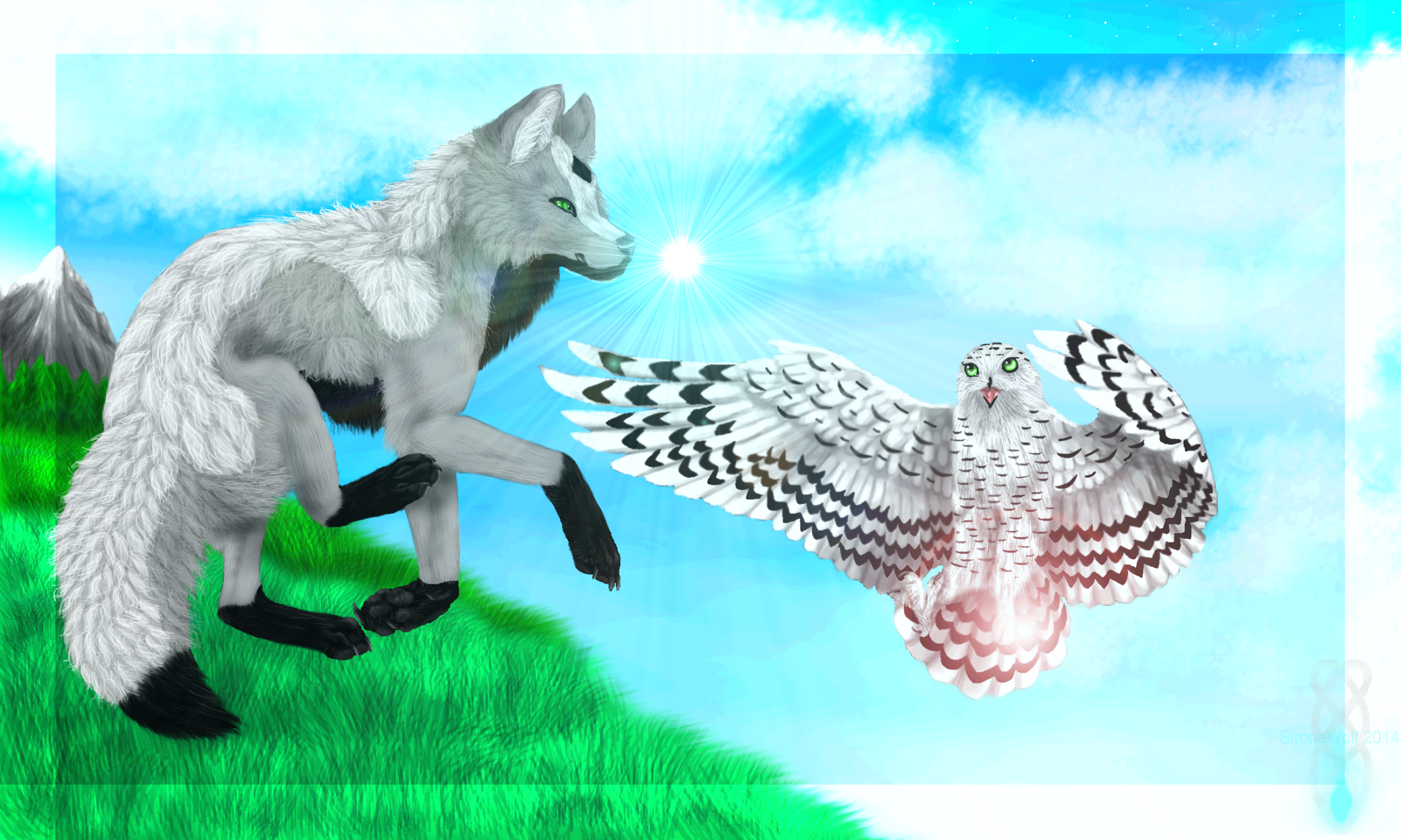 -:Take To The Sky:- by SironaWolf