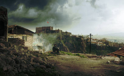 Ankara Castle II by ugurerbas