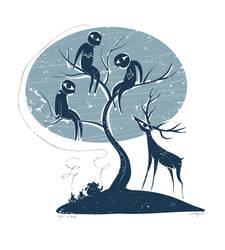 Deer Attack by ugurerbas