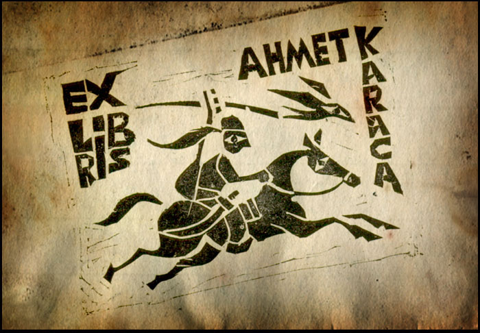 Exlibris Karaca by ugurerbas