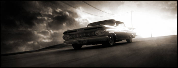 Impala on Road by ugurerbas
