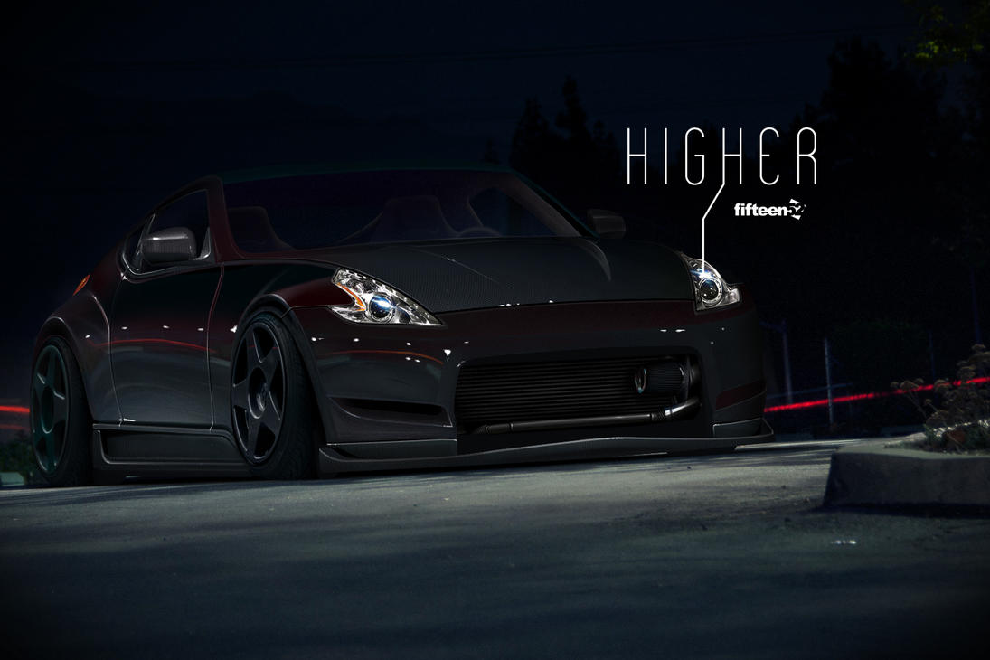 Nissan 370Z Updated by DzDesign
