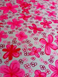 Hot pink petals