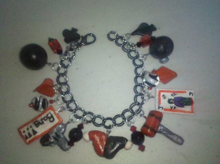 Harley Quinn Bracelet by tink502