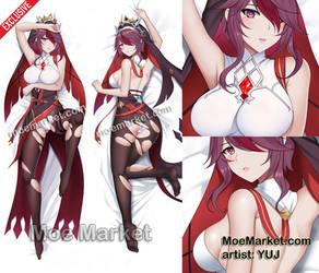 Genshin Impact Rosaria Dakimakura by MoeMarket.com