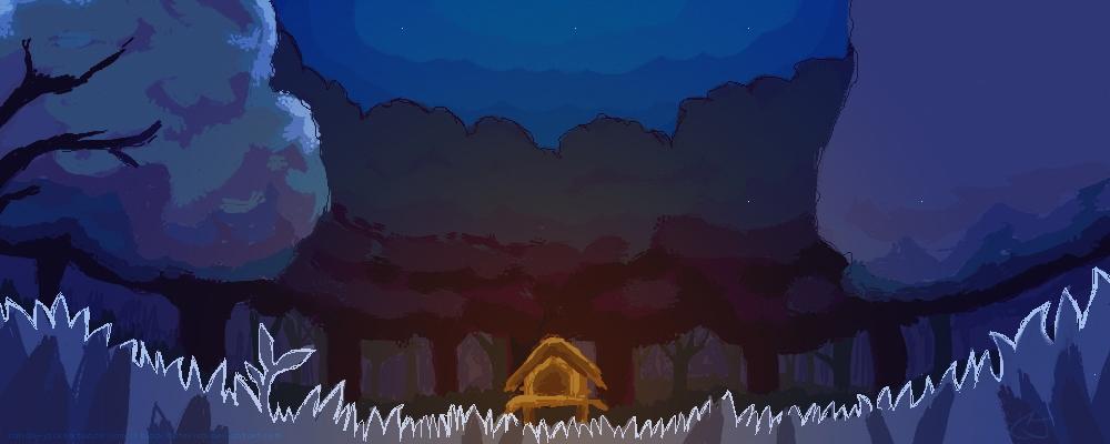 Speed Pratice: Pokemon Landscape by blacklusterism
