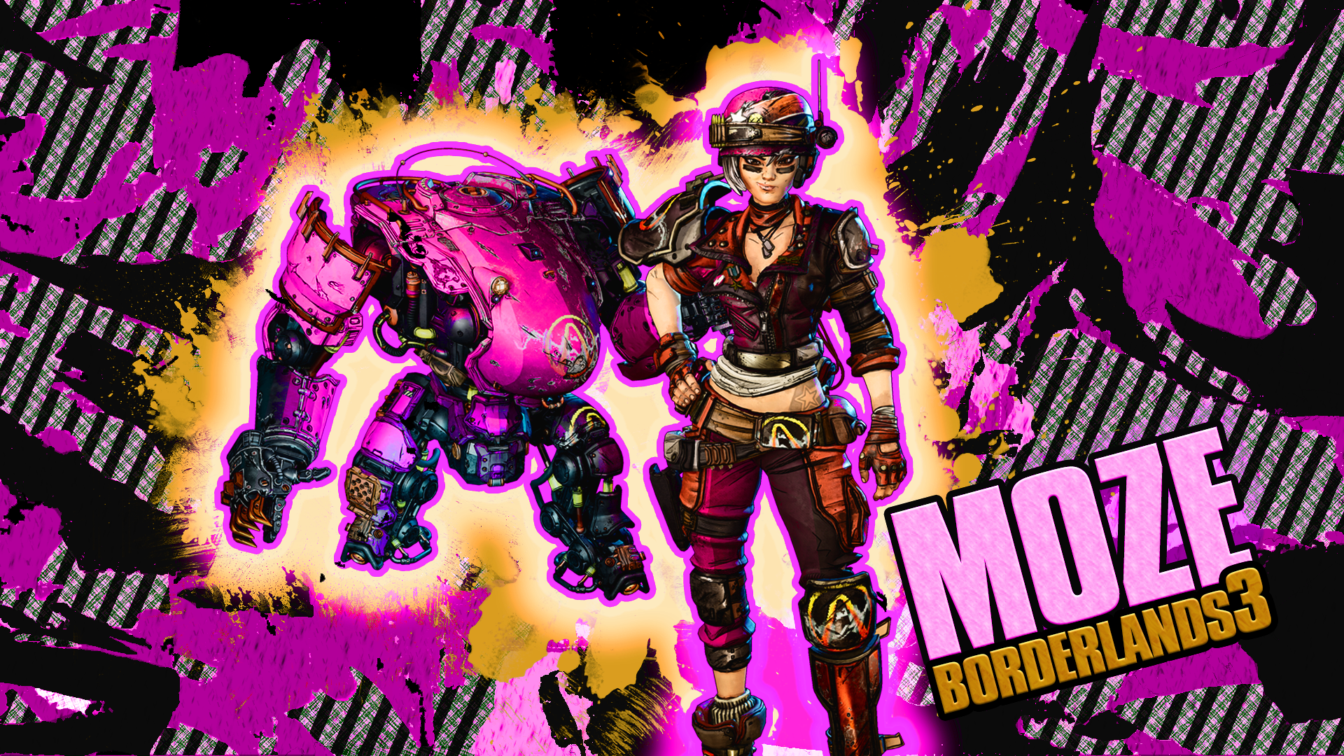 Borderlands 3 Moze By Yunie16 On Deviantart