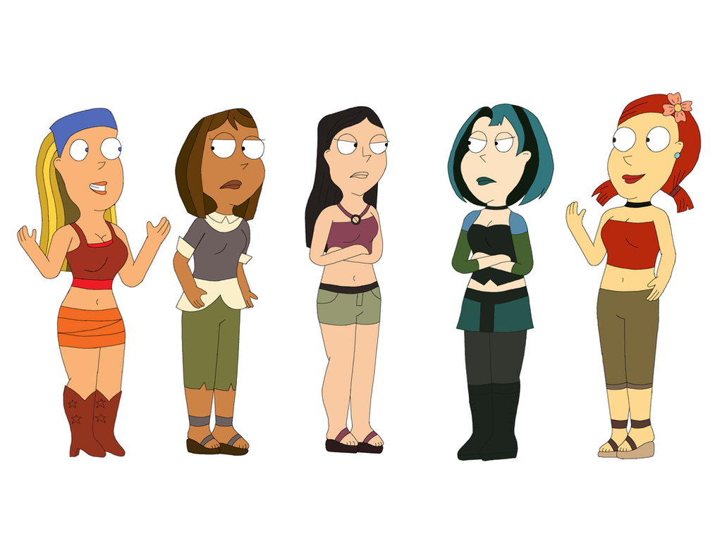 Cartoon Characters Guys : Tdi family guy style by tjlive5 on deviantart