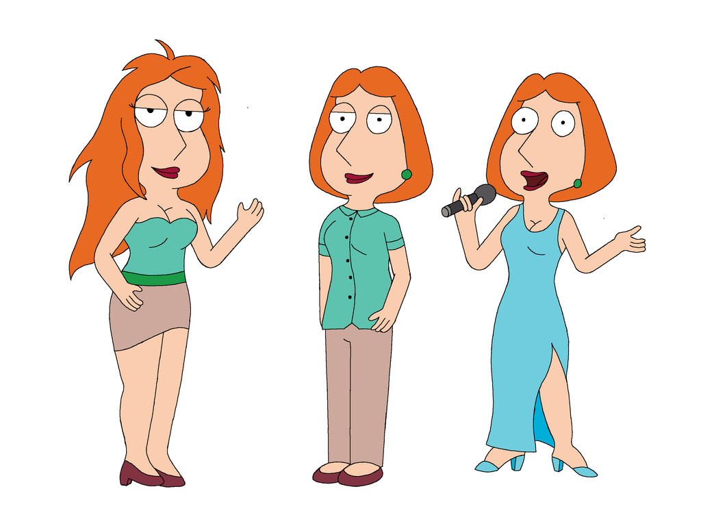 Lois Griffin Deviantart Lois Griffin , triple ...
