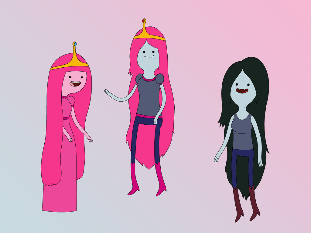 Bubblegum X Marceline Fusion by tjlive5 on DeviantArt