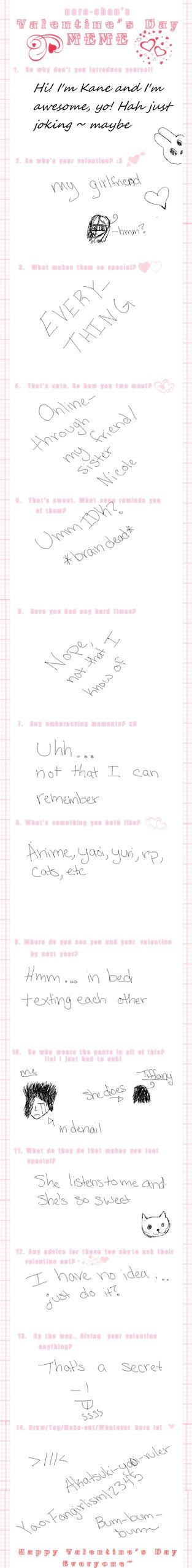 Valentine's Day Meme by KaneTheDFWMSeme