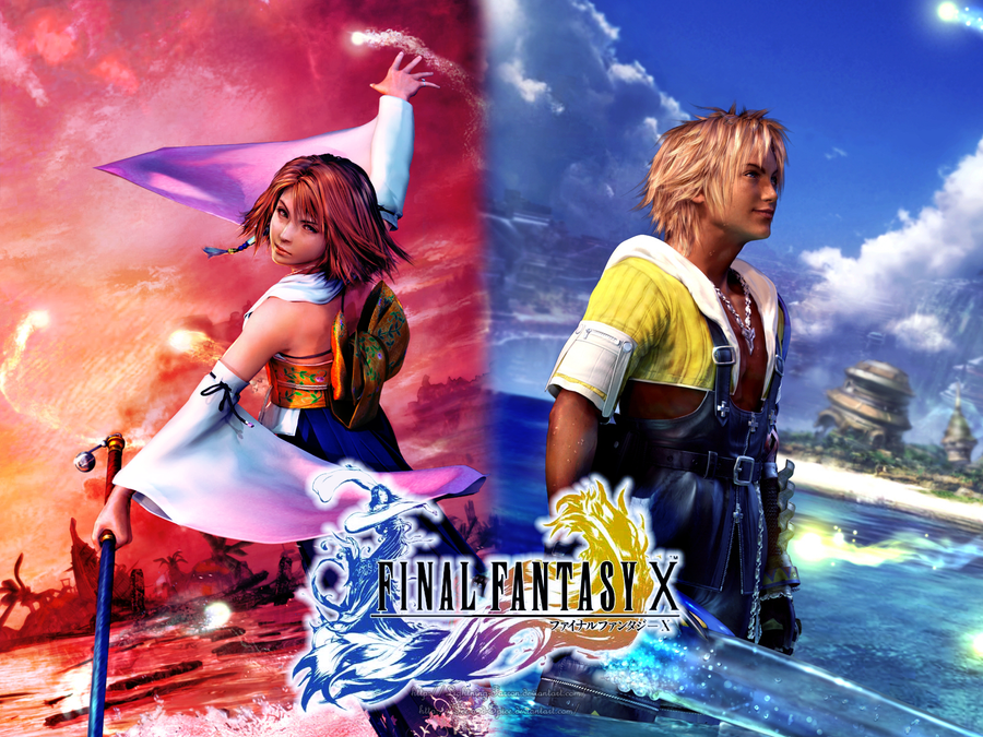 Yuna Tidus images Tidus and Yuna Together Forever Final Fantasy