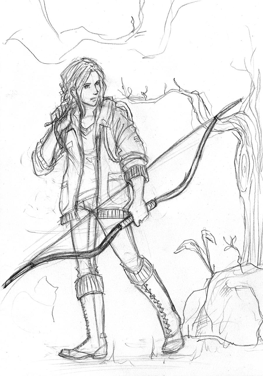 The Hunger Games: Katniss Everdeen by Catching-Smoke
