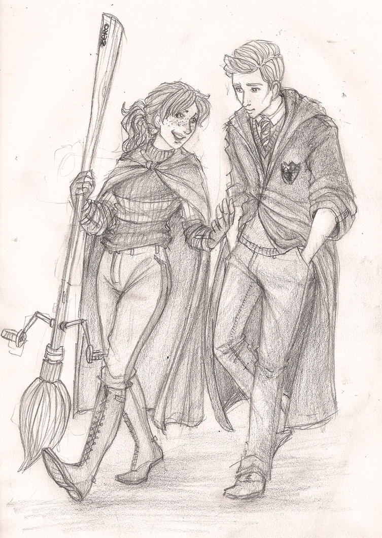 Rose and Scorpius by Catching-Smoke