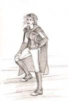 Holyhead Harpies: Ginny Weasley by Catching-Smoke