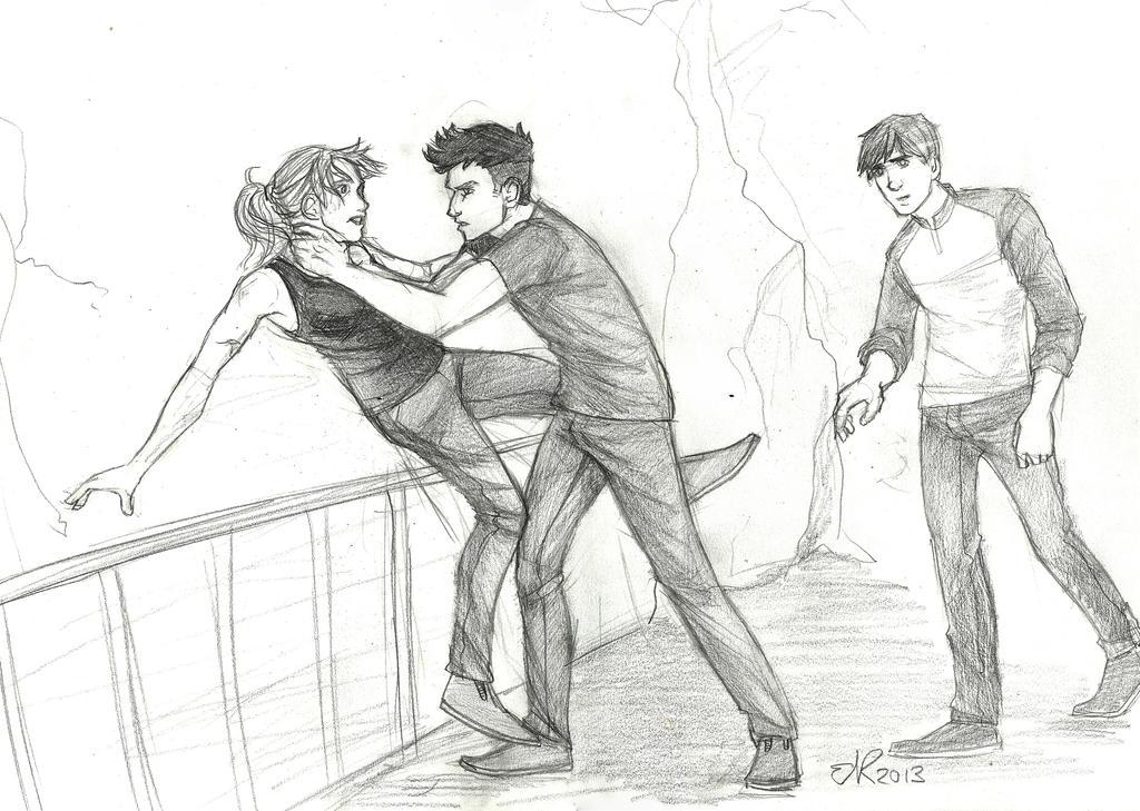Divergent Fan Art Deviantart Divergent: Ambush by C...