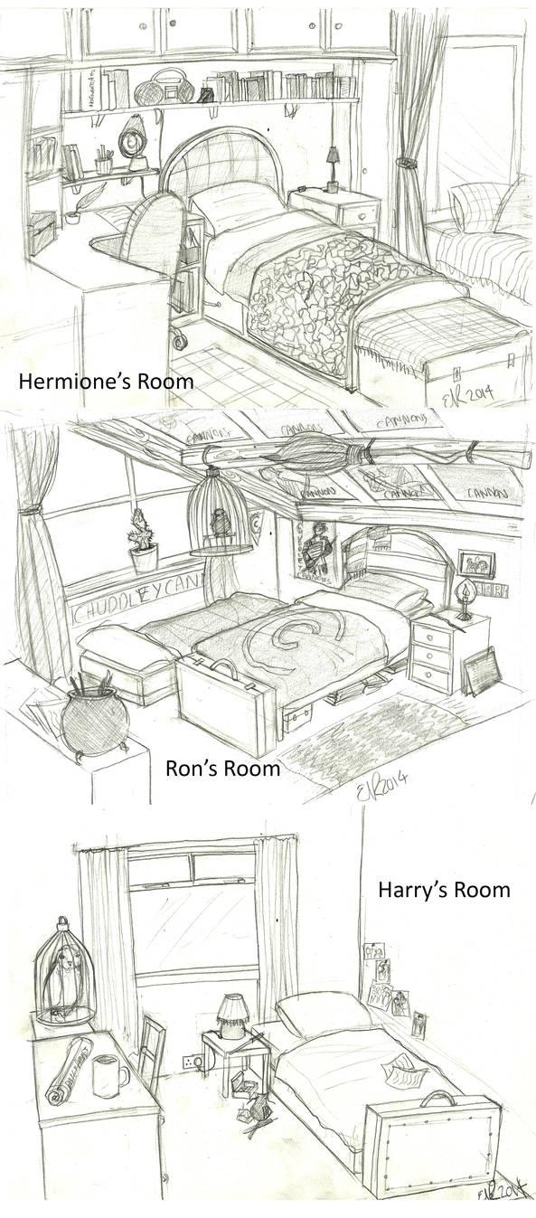 Harry Potter: Bedrooms