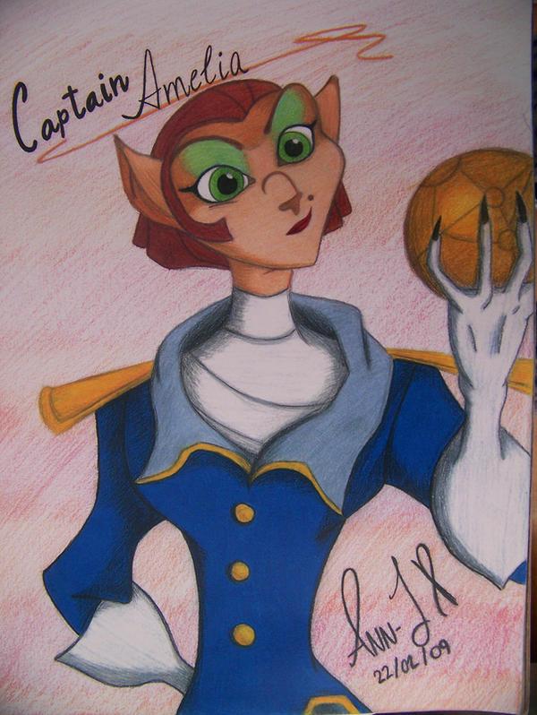 Captain Amelia by Wilbur-distiny