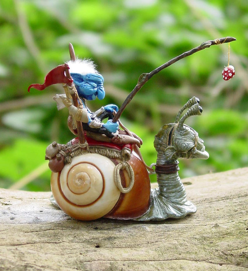 Argus and Dragontoof by JillWilli