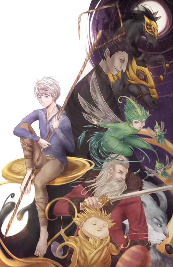 childhood guardians by rein-arius