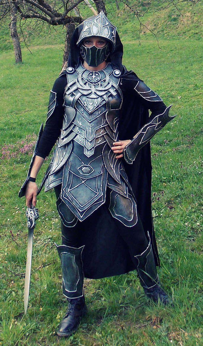 Skyrim: Nightingale Armor Cosplay by Cita555 on DeviantArt