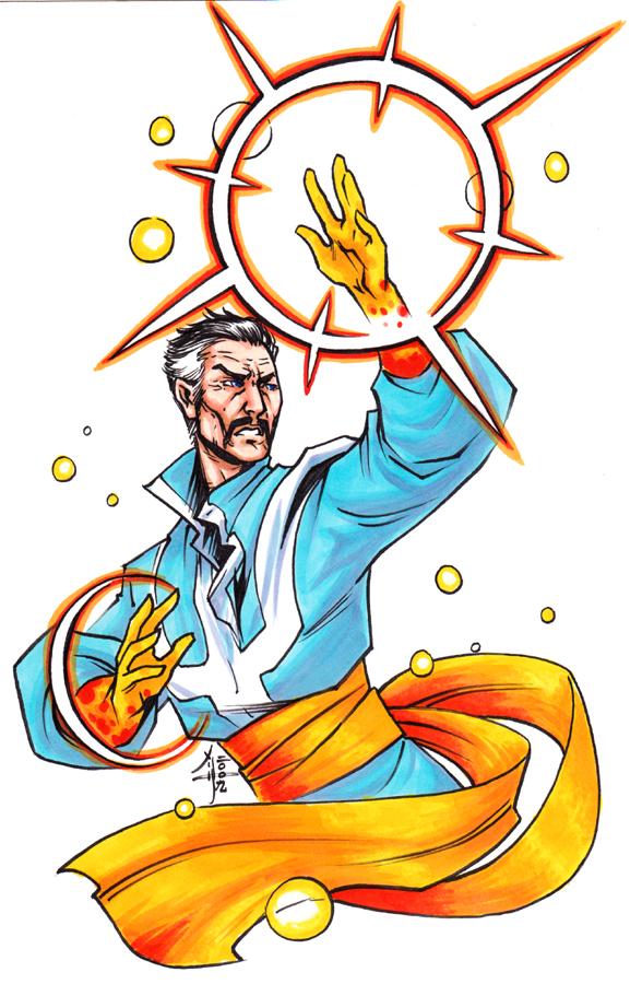 Doctor Strange by MelUran