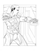 Tron +ink+ by MelUran