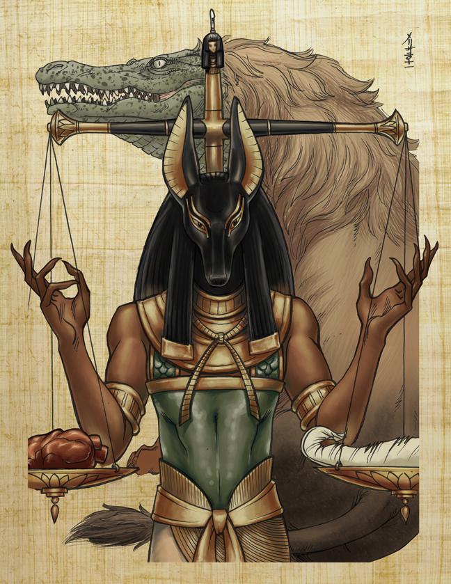 [Jeu] Association d'images - Page 4 Classic_mythology__anubis_by_meluran-d4xnvc0