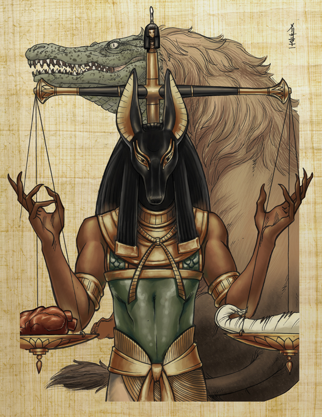 Classic Mythology- Anubis by MelUran