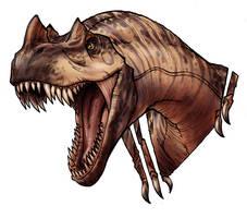 Ceratasaurus by MelUran